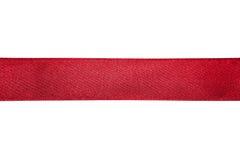 Красная тесемка Стоковые Изображения RF