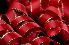 красная тесемка Стоковые Изображения