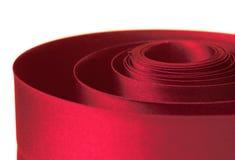 красная тесемка Стоковое Фото
