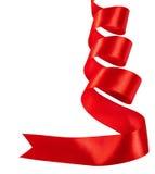 красная тесемка Стоковые Фотографии RF