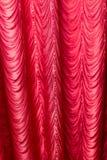 Красная ткань как предпосылка текстура Стоковое фото RF