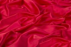 Красная ткань Стоковые Фото