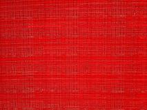Красная ткань Стоковые Изображения