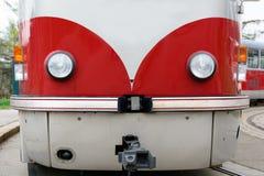 Красная трамвайная линия Стоковые Фотографии RF