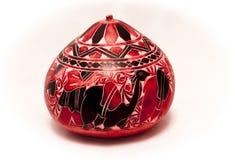 Красная тыква буфета пустыни Стоковая Фотография