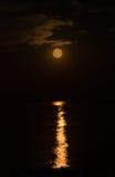 Красная луна Стоковая Фотография RF