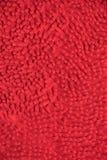 Красная циновка ткани Стоковая Фотография