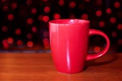 Красная чашка Стоковые Фото