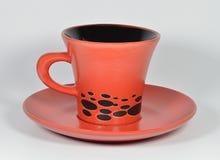 Красная чашка Стоковая Фотография