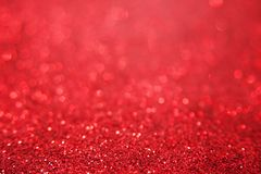 Красная яркая предпосылка bokeh яркого блеска Текстура искры Стоковое Фото