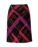 Красная checkered юбка Стоковая Фотография RF