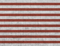 Красная striped бумага Стоковое Изображение RF