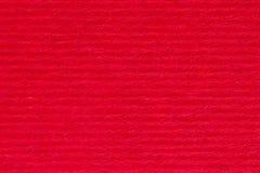 Красная striped бумажная текстура как предпосылка Стоковое Изображение