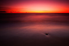 Красное Балтийское море Стоковая Фотография RF