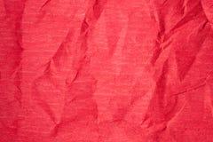 Красное бумажное textura Стоковое Изображение