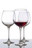 красное вино Стоковая Фотография