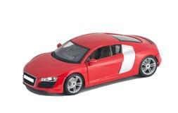 Красное вид спереди автомобиля Стоковые Изображения RF