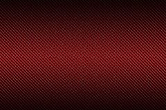 Красное волокно углерода с черным цветом градиента, иллюстрация вектора