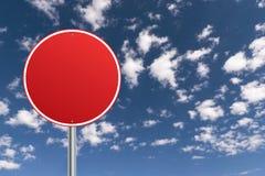 красное движение знака стоковые фото