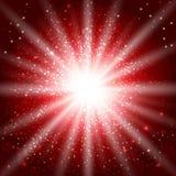 Красное зарево Стоковые Изображения