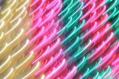 Красное, зеленое и золото- абстрактное искусство цвета и предпосылки Стоковое фото RF