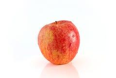Красное изолированное яблоко Стоковое фото RF