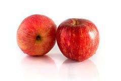 Красное изолированное яблоко Стоковая Фотография RF