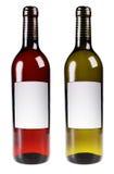 Красное и белое вино Стоковая Фотография