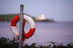 Красное и белое кольцо жизни Стоковая Фотография RF