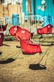 красное качание места Стоковое Фото