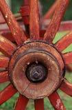 Красное колесо фуры Стоковая Фотография RF