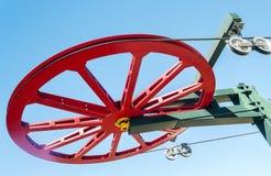 Красное колесо Стоковые Изображения RF