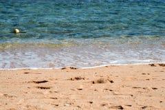 Красное Море и песок Стоковое Изображение