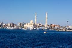 Красное Море около Hurghada, красивого Стоковое Изображение RF