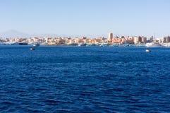 Красное Море около Hurghada, красивого Стоковое фото RF