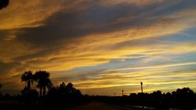 Красное наслаждение матросов ночи небес Стоковые Фото