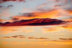 Красное облако стоковые фотографии rf