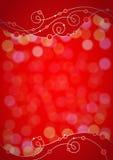 Красное праздничное backgr Стоковое Изображение