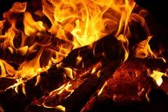Красное пламя стоковые изображения