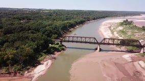 красное река Стоковое Фото