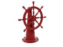 красное рулевое колесо бесплатная иллюстрация