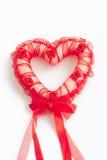 Красное сердце Стоковое Изображение RF