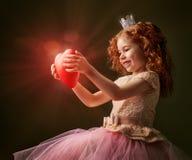 Красное сердце Стоковая Фотография RF