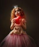 Красное сердце Стоковое Фото