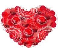 Красное сердце Стоковые Фото