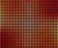 Красное СИД ставит точки абстрактная предпосылка Стоковая Фотография RF