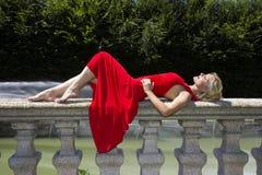 Красное сновидение Стоковые Фото