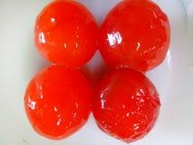 красное соль яичка стоковая фотография rf