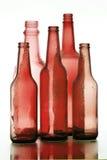 Красное стекло Стоковое Фото