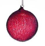 Красное украшение рождества Стоковое Фото